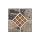 National Pool Tile Verona 6x6 Series | Tavora Tan Deco | VR682 DECO