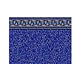 "Pacific Diamond 8' Round | Standard Gauge Unibead 48"" Tall | J-Hook Style Liner NL939810 | LI848PDU"