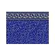 "Pacific Diamond 8'x12' Oval   Standard Gauge Unibead 48"" Tall   J-Hook Style Liner NL939821   LI812PDU"