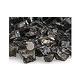 American Fireglass Half Inch Premium Collection   Bronze Reflective Fire Glass   10 Pound Jar   BRZRF12-J