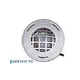 J&J Electronics PureWhite LED Underwater Fountain Luminaire | Guard Only No Base | 120V 30' Cord | LFF-S1L-120-WG-NB-30
