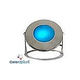 J&J Electronics ColorSplash LED Underwater Fountain Luminaire | Base Only No Guard | 120V 10' Cord | LFF-F1C-120-NG-WB-10