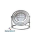 J&J Electronics ColorSplash LED Underwater Fountain Luminaire | With Guard And Base | 120V 50' Cord | LFF-F1C-120-WG-WB-50