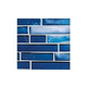 National Pool Tile Aquascapes Interlocking Glass Tile | Sapphire | OCN-SAPPHIRE IS12