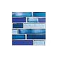National Pool Tile Aquascapes Interlocking Glass   Capri   OCN-CAPRI IS12