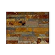 Natural Stone Ledger Panel 6x24   Sunset Mulit Color   Dressed Slate