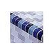 Artistry In Mosaics Crystal Series - Trim Cobalt Blue Blend Glass Tile | TRIM-GC82348B2