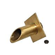 """Water Scuppers and Bowls 2"""" Brass Diamond Geo Water Fountain Spout   Oil Rubbed Bronze   WSBBD7923"""