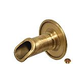 Water Scuppers and Bowls Arc Scupper | French Gold | WSBBAS122