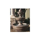 Water Scuppers and Bowls Mediterranean Garden Fountain | Gray Smooth | WSBMED