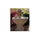 Water Scuppers and Bowls Bordeaux Fountain | Gray Sandblasted | WSBBORD