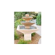 Water Scuppers and Bowls Riviera Water Fountain | Gray Smooth | WSBRIV