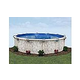"Tahoe 27' Round Above Ground Pool | Basic Package 54"" Wall 