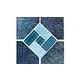 National Pool Tile Trident 6x6 Deco | Turquiose | TRD-TORTOISE DECO
