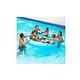 Ocean Blue Rock & Roll Inflatable Island | 950447