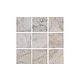 National Pool Tile Gemstone 2x2 Series | Silver | GMS-SILVER2X2