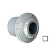 """AquaStar Three Piece Directional Eyeball Fitting   1-1/2"""" Knock-In   with Slotted Orifice   White   4401"""