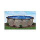 "Coronado 30' Round Above Ground Pool | Basic Package 54"" Wall 