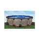 "Coronado 33' Round Above Ground Pool | Basic Package 54"" Wall | 167948"