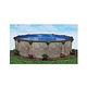 "Laguna 16' Round Above Ground Pool | Basic Package 52"" Wall | 168008"