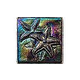 National Pool Tile Deco Accent Glass Tiles 4x4 Starfish | Rainbow | OCN-RNSTARFISH