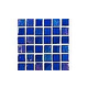 National Pool Tile Equinox 1x1 Glass Tile | Dark Blue | EQX-MIDNIGHT