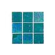 National Pool Tile Equinox 2x2 Glass Tile | Verde | EQX-EVERGREEN2X2