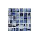 National Pool Tile Boutique Tozen Series 1x1 Glass Tile   Antimony Natural   TOZ-1X1 ANTIMONY NAT