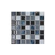 National Pool Tile Boutique Ibiza .75in x .75in Glass Tile | Moonstone | IBZ-MOONSTONE