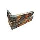 National Pool Tile Natural Ledgerstone 6x16 Corner   Bark   LDGR-BARK CRN