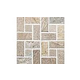 National Pool Tile Quartzite Pool Tile | Golden Harvest | Pinwheel Mosaic