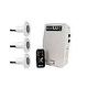 SR Smith poolLUX Plus2 Multi-Zone Wireless Lighting Control System with Remote | 120 Watt 120V Transformer | Includes 3 Kelo Light Kit | 3KE-PLX-PL2
