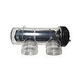 CompuPool OEM Replacement Salt Cell CPSC16 with Housing | 4-Blade for up to 20000 Gallons | JD363130B-COMPL