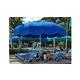 Anchor Industries FUNbrella Classic Permanent Umbrella Shade Structure   12' Round   CLASSIC12