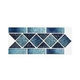 National Pool Tile Fiji Border Series   Sky Blue   FIJI-SKY BORDER