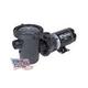 Waterway Center Discharge 48-Frame 1HP Above Ground 2-Speed Pool Pump 115V | 3' Twist Lock Cord | 3420411-1544