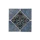 National Pool Tile Oxide 6x6 Series | Azurite Blue Deco | OXD-BLUE DECO