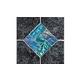 National Pool Tile Aztec Series 6x6 Deco | Charcoal | AZ609 DECO