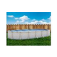 """Pristine Bay 12' x 24' Oval Above Ground Pool   Basic Package 52"""" Wall   182250"""