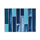 National Pool Tile Aquascapes Vertical Glass   Azure   OCN-AZURE VS6