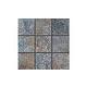 National Pool Tile Raku 2x2 Series | Cobalt Blue | RUCOBALT2X2