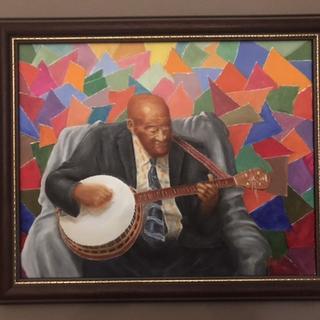 New Orleans banjo player