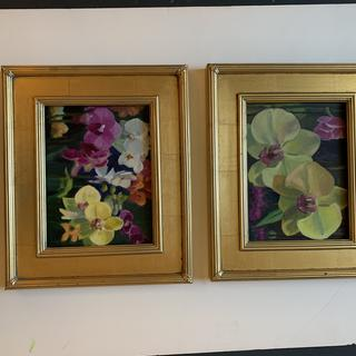 Great frame for the florals!