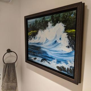 Northshore Wave Art by Diane Snoey Appler Fine Art  see dianeappler dot com