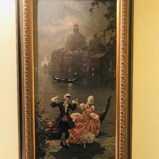 Vintage Venetian panel
