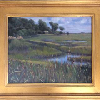 Carolina Salt Marsh, 16x20