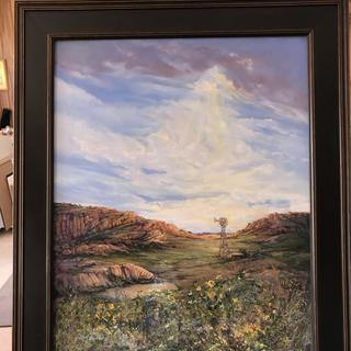 """Morning's Abundance"" 30"" x 24"" pastel Lindy Cook Severns"