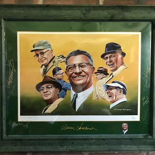 Perfect for this Packers memorabilia