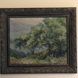 Perfect frame for a very old oil painting
