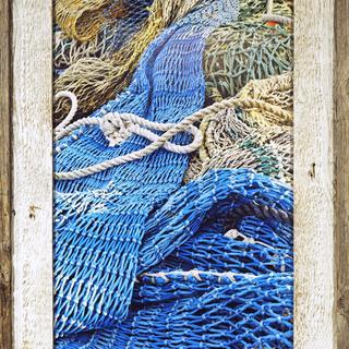 Fishing Nets - Montauk Pt. LI NY